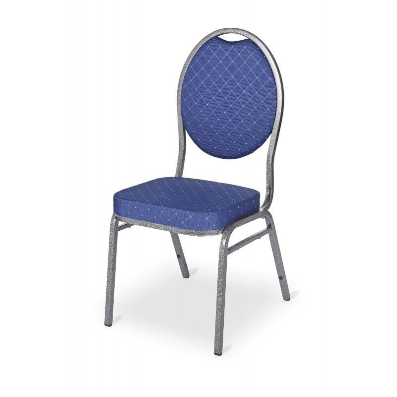 Krzesło bankietowe HERMAN niebieski